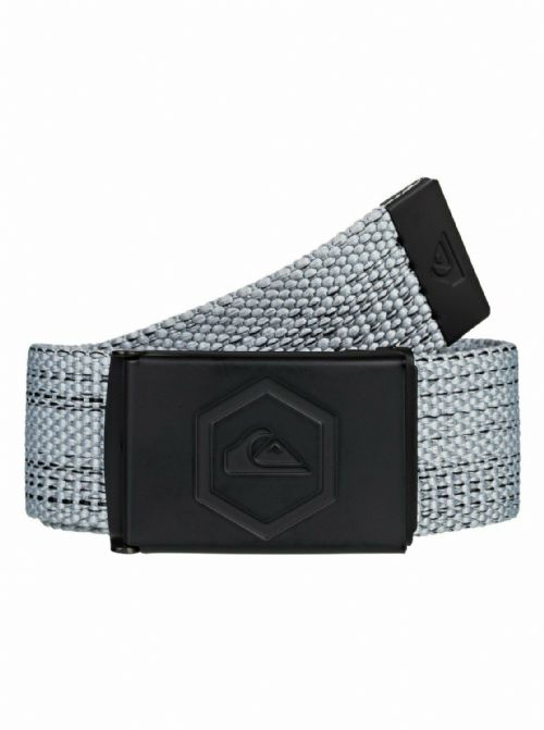 QUIKSILVER MENS BELT.PRINCIPLE III 32mm GREY WEBBING TROUSERS JEAN STRAP 9W 40KP